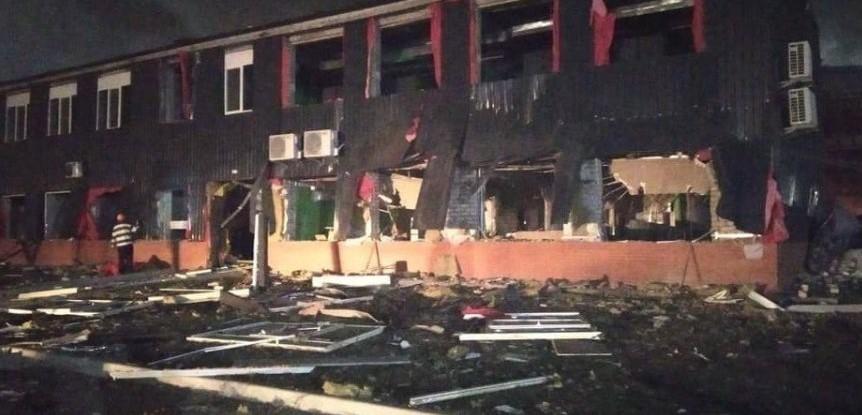 Взрыв на маслоэкстракционном заводе Днепр Потоки